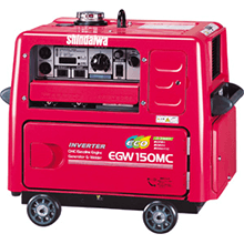 溶接機参考価格 新ダイワ EGW150MC