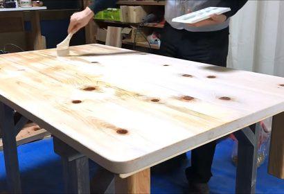 DIYで木のローテーブルを簡単に作る方法 アイキャッチ画像