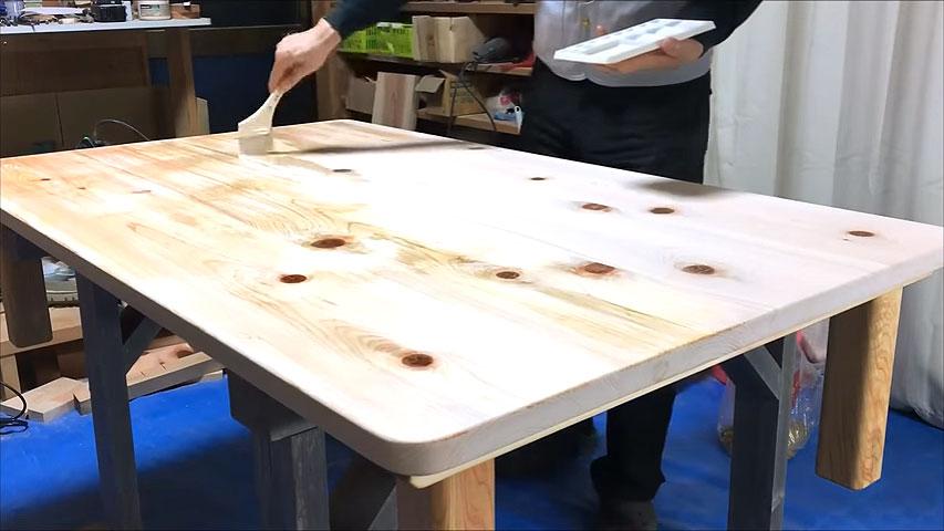 DIYで木のローテーブルを簡単に作る方法