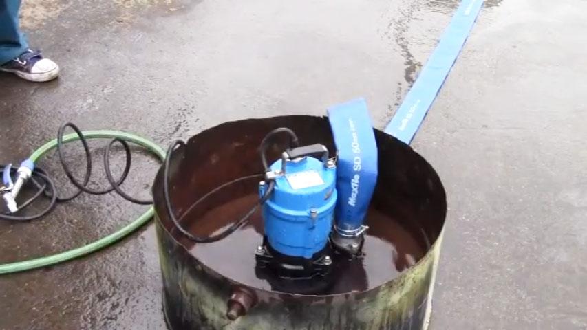 水中ポンプは使い方を誤らなければ難しくない!水中ポンプの正しい使用方法