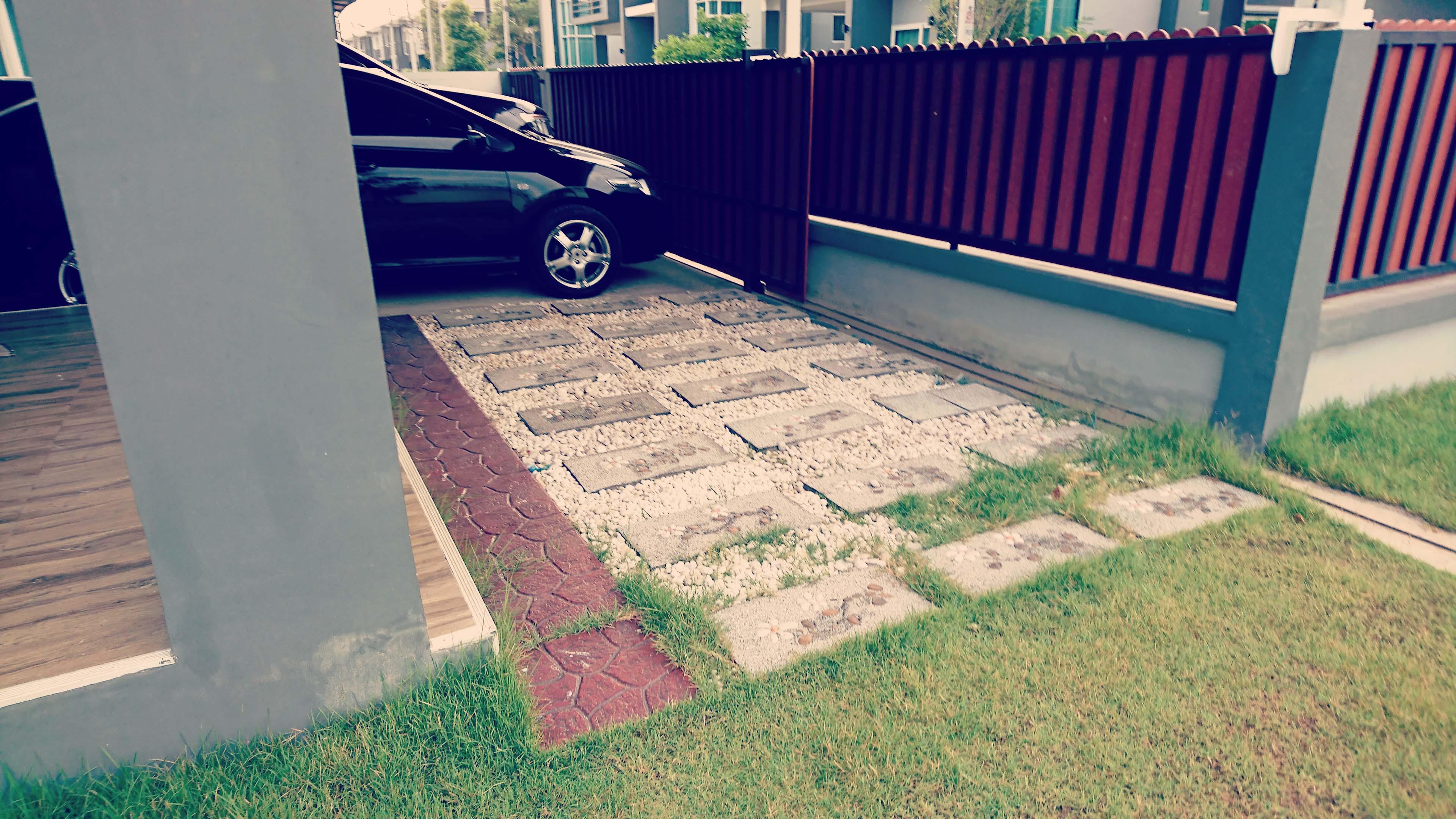 敷石の種類と施工方法について