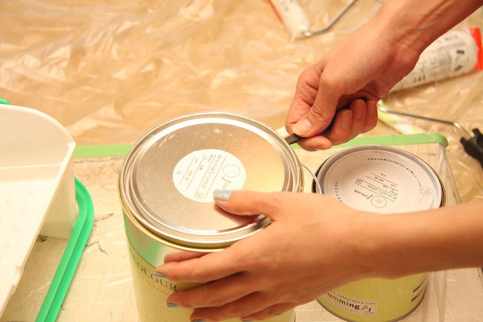 缶入り塗料