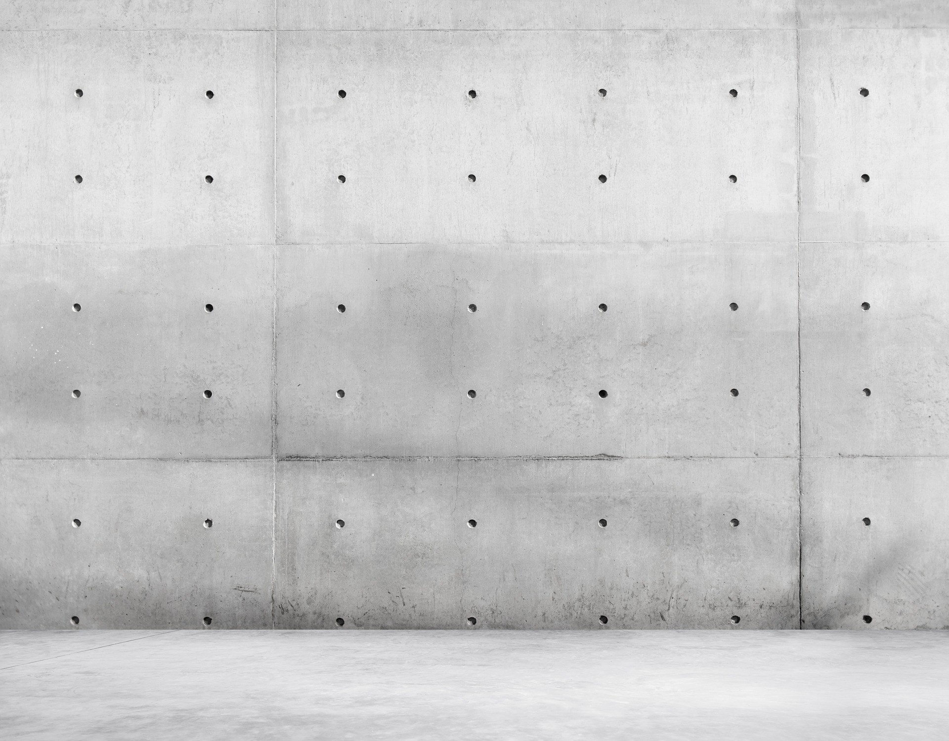 防音シート コンクリート打ちっぱなしの壁