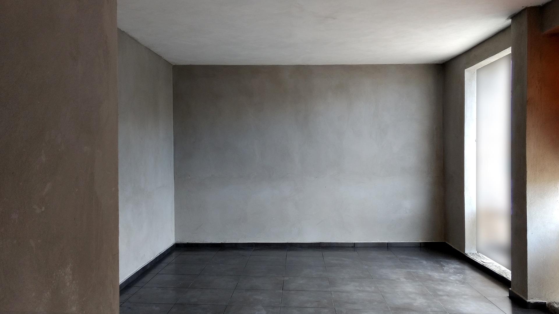 防音シート コンクリート打ちっぱなしの部屋