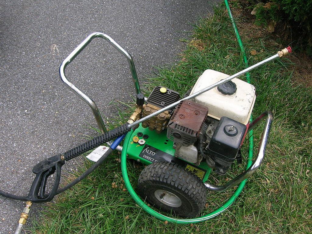 高圧洗浄機6