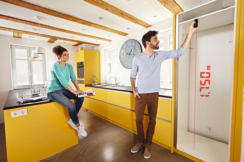 測定距離の短いDIYや室内の測定に便利なタイプ