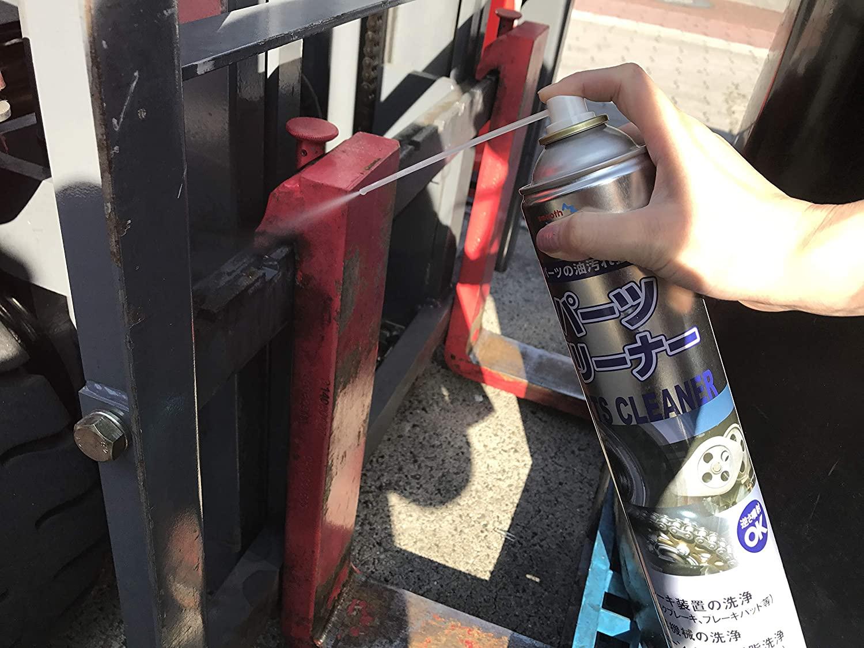 パーツクリーナーとは?サビや油汚れを落とすのに最適な便利アイテム!